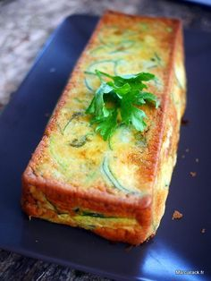 Invisible aux courgettes et parmesan - Veganer Kuchen Low Carb Recipes, Vegetarian Recipes, Healthy Recipes, Healthy Food, Parmesan, Crockpot Recipes, Cooking Recipes, Cholesterol Lowering Foods, Cholesterol Symptoms