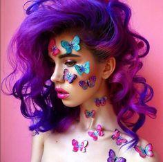 Roxo é a cor mais fun: 24 inspirações para colorir a madeixas já!