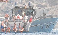 Inspectores de Aduanas registran el yate alquilado por Ronaldo en Formentera