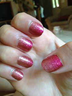 Sally Hansen salon effects! Pink ombré! Lovee!