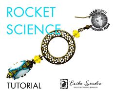 Rocket Science beaded bead  instant dowload for the pdf