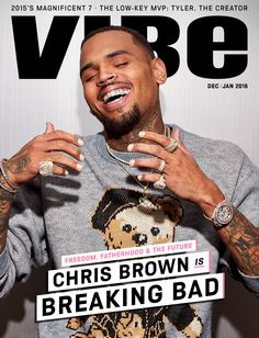 """You can be that rose in the concrete, or you can be that underdog, or you can be that person that people already cast out, and still be able to maintain and live your life, understand change, and make a difference."" Read more: http://www.vibe.com/featured/digital-cover-chris-brown/"