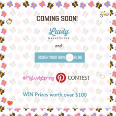 Coming soon! Luvly's and @marianney's new Pinterest contest. Stay tuned for more details!