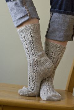 Ravelry: Divinity Socks pattern by Virginia Sattler-Reimer