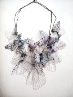 delicate, airy necklace