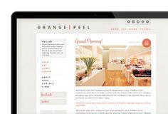 Website/Blog Design on Behance