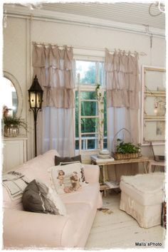 These curtains would work great in my LR & DR area.....