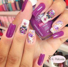 Cool Designs, Cool Stuff, Nails, Beauty, Nail Art, Finger Nails, Ongles, Beauty Illustration, Nail
