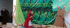 """Caperucita Roja, verción Cristiana Tema: """"Obediencia a los padres"""""""