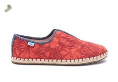 Toms Palmera Slip-ons Red Multi Canvas Hibiscus Womens (7.5) - Toms sneakers for women ( Amazon Partner-Link) Cheap Toms Shoes, Toms Shoes Outlet, Toms Sneakers, Slip On Sneakers, Toms Outfits, Trendy Shoes, Womens Toms, Me Too Shoes, Tom Shoes