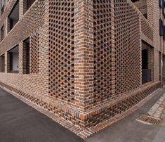 brick parapet perforated - Google Search