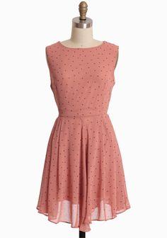 Sweet Summer Tea Polka Dot Dress $48.99 at