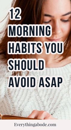 Morning Routine Checklist, Bad Morning, Stop Overeating, Morning Habits, Achieving Goals, Self Care, Everything, Healthy Living, Lifestyle