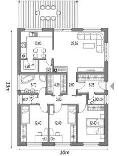 projekt rodinneho domu MAXIN