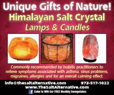 Himalayan Crystal Salt Lamps Commonly Recommended by Holistic Health Practitioners; The Salt Alternative Launches Online Store in North Jersey