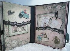 Heartfelt Creations Once Upon a Time Mini Album - Scrapbook.com: