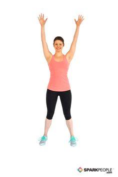 Alternating Hamstring Curls Exercise Demonstration via Desk Workout, Workout At Work, Getting Back In Shape, Get In Shape, Gluteus Workout, Jumping Jacks Workout, Hamstring Curls, Butt Kicks, Spark People
