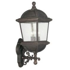 Outdoor front entry lights