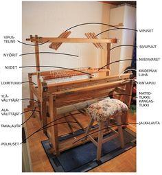 Weaving Patterns, Loom Weaving, Wishbone Chair, Rocking Chair, Handicraft, Twine, Rugs On Carpet, Diy And Crafts, Flooring