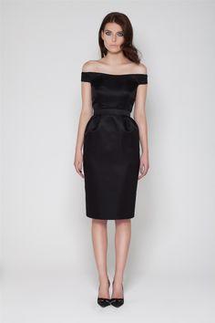 The Bardot Dress Model Shot (click to view larger image)