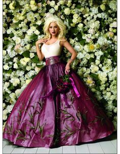 Purple Gown ~ just give me a reason