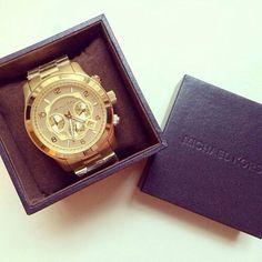 Michael Kors Men's Gold Watch Runway
