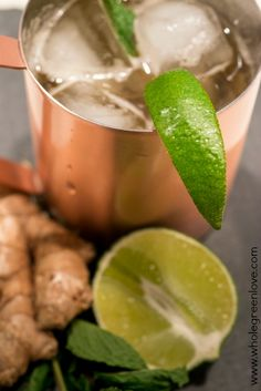 How to Make a Moscow Mule | WholeGreenLove.com