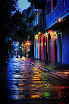 New Orleans in rainbow colors!