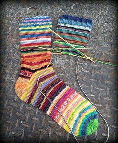 Ravelry: graylagran's kroy leftover socks