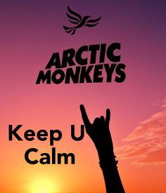 ARTIC MONKEYS Keep U Calm - by JMK