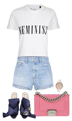 """Untitled #989"" by julianne28 ❤ liked on Polyvore featuring Tee and Cake, GRLFRND, Chanel, N°21, ZoÃ« Chicco and Olivia Burton"