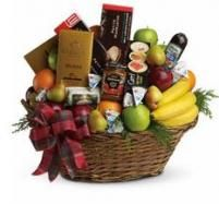 A gift basket is a wonderful gesture!