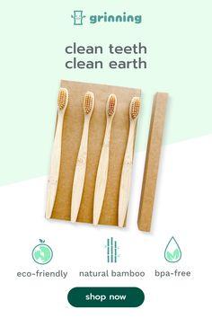 Green Companies, Natural Teething Remedies, Simpsons Art, 1000 Years, Plastic Waste, Teeth Cleaning, Kraft Paper, Frugal Living, Zero Waste