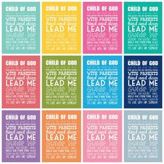 5x7 i am a child of God - chevron *FREE* download for 2013 Primary Theme.