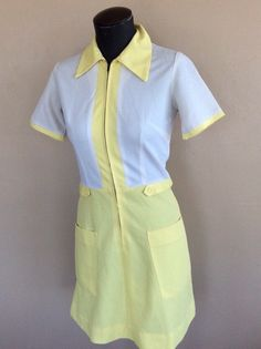 A personal favorite from my Etsy shop https://www.etsy.com/listing/228266924/1950s-or-early-1960s-diner-uniform