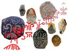 """Încă din neolitic, simbolistica pomului vieţii a fost alcătuită din trei ideograme specifice pentru regenerare: """"V""""-ul Marii Zeiţe, bucraniul sau uterul şi pieptenele sau peria - simbol reprezentând apa curgătoare."""