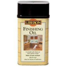 Liberon Finishing Oil. Food safe finish