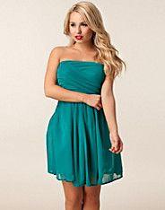 Mimosa Lace Dress - Jeane Blush - Turkis - Festkjoler - Tøj - NELLY.COM