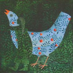 Cate Edwards - HugBird | Flickr - Photo Sharing! Un peu de Magritte là-dedans