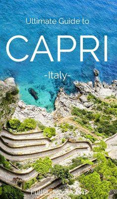Amazing things to do in Capri Italy #italytrip #italyvacation #italytravel #capri