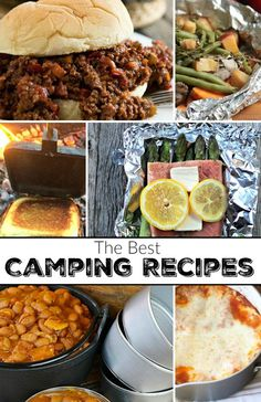 Some of the BEST camping food ideas out there that are easy to make! I've got a long list of our favorite camping recipes that you'll love...I'm all about EASY!