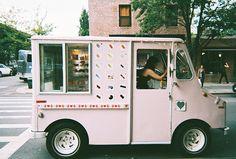pink wagon #foodtruck