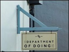 Department Of Doing