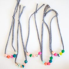 66 Best Kids Necklace Images On Pinterest Jewelry Necklaces And