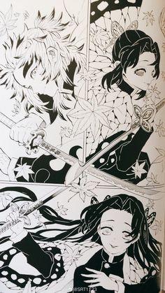3d Art Drawing, Manga Drawing, Manga Art, Chica Anime Manga, Anime Chibi, Kawaii Anime, Demon Slayer, Slayer Anime, Fantasy Demon