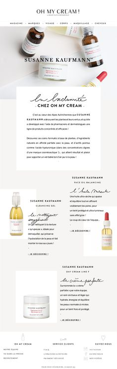graphic design emailing by TUSERASBEAU photo A.Cuvelier