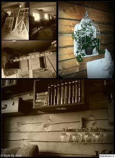 Keittiö, ruokailuhuone, eteinen, vieras-,tupakkahuone,kuisti ja olohuone vanhassa hirsitalossa - Sisustuskuvia jäseneltä StyleByAlisa - Styl...