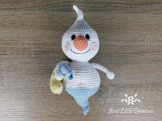 Ami Little Creature: Happy Ghost - Free Crochet Pattern and video. Halloween Owl, Halloween Crochet, Crochet Toys, Free Crochet, Slip Stitch, Softies, Single Crochet, Crochet Projects, Gifts For Kids