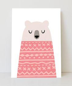 Lámina oso con suete