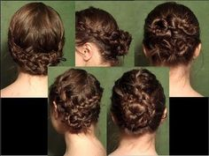 Hairstyle #3 and #5 are the best I think...great Wet Hair Tutorials